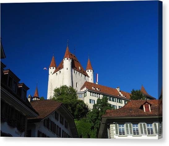 Thun Castle Canvas Print