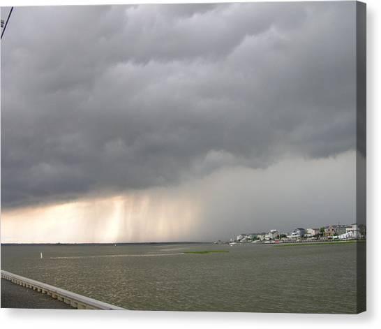 Thunder On The Bay Canvas Print