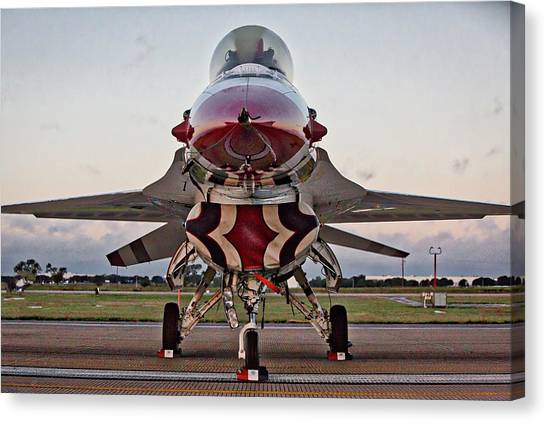 Thunderbird Canvas Print
