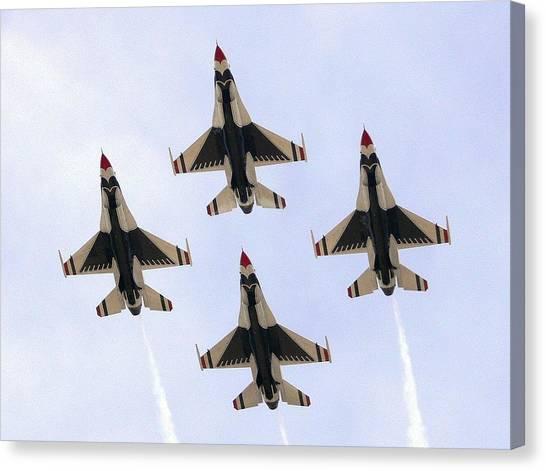 Thunderbirds Away Canvas Print