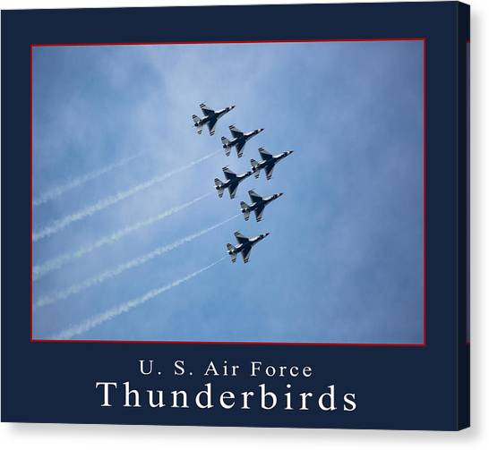 Thunderbirds Canvas Print