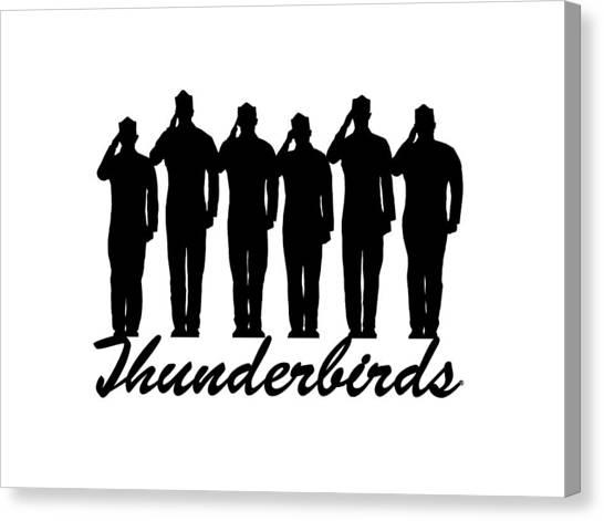 Thunderbirds Pilots Canvas Print