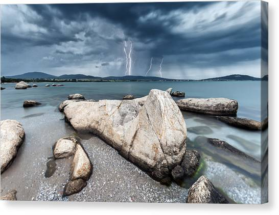 Thunderstorm  Canvas Print