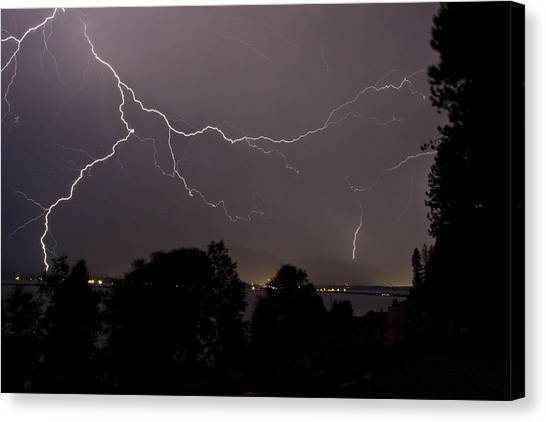 Thunderstorm II Canvas Print