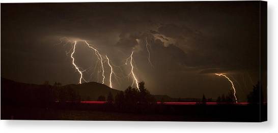 Thunderstorm IIi Canvas Print