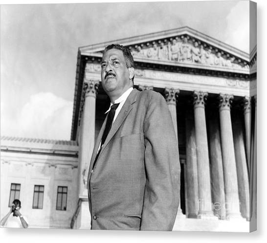 Canvas Print - Thurgood Marshall by Granger