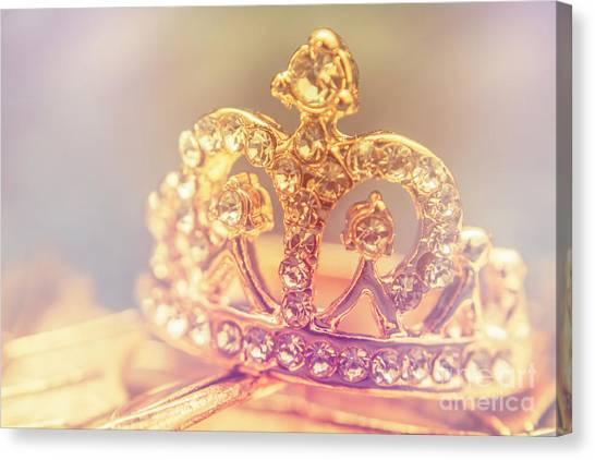 Prince Canvas Print - Tiara Crown With Diamonds by Jorgo Photography - Wall Art Gallery