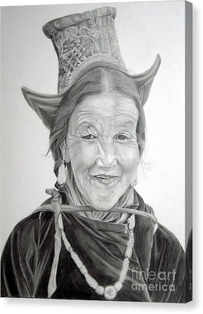 Tibetan Delight Canvas Print