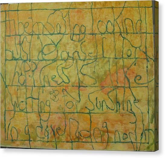 Tibetan Saying Canvas Print