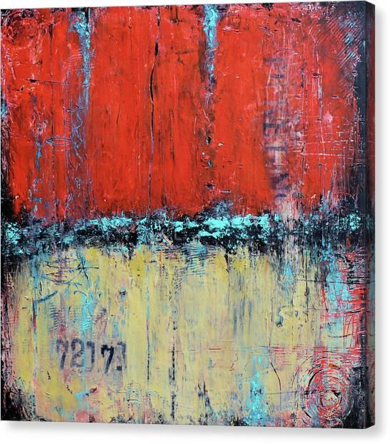 Ticket No. 72173 Canvas Print