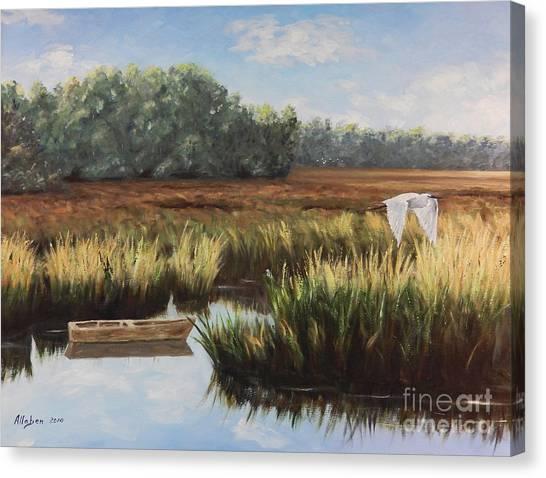 Tidal Creek Canvas Print