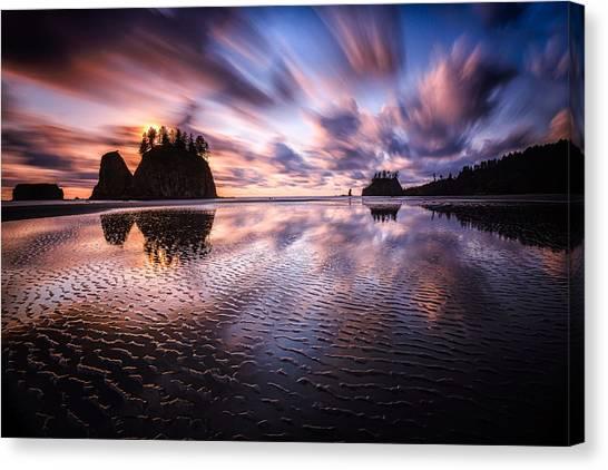 Tidal Reflection Serenity Canvas Print