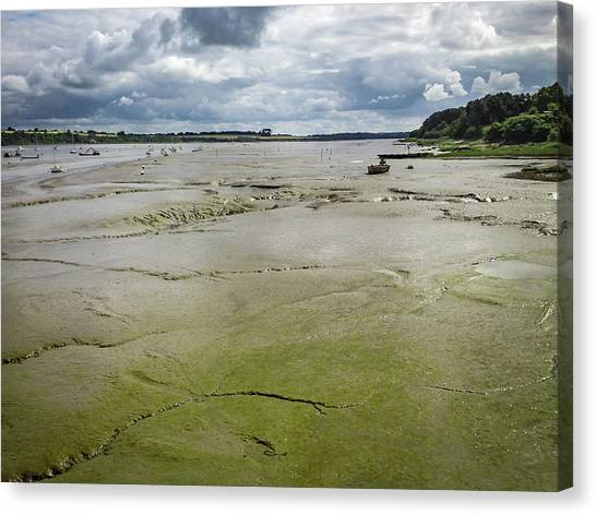 Tide Is Out  Canvas Print