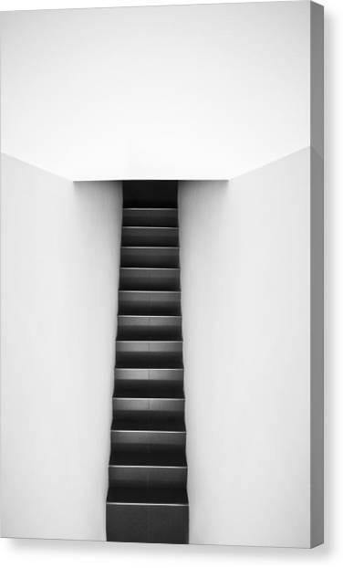 Stairs Canvas Print - Tie by Elena Lopez       Www.lenafotografia.com
