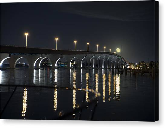Tierra Verde Bridge Canvas Print