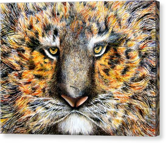 Tig The Tiger With An Attitude Canvas Print by JoLyn Holladay