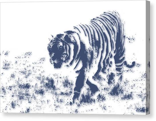 Mount Kilimanjaro Canvas Print - Tiger 3 by Joe Hamilton