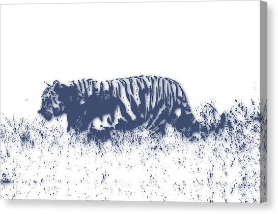 Mount Kilimanjaro Canvas Print - Tiger 4 by Joe Hamilton