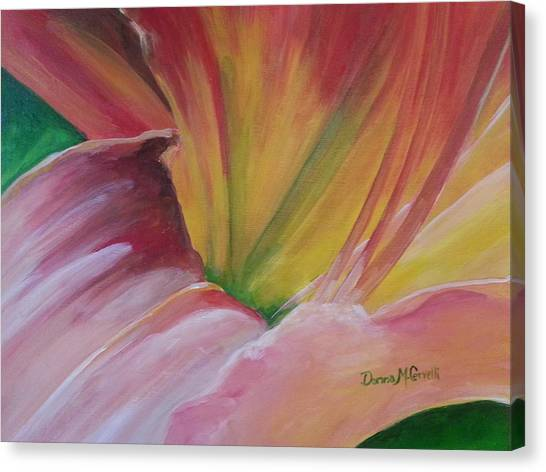 Tiger Lily Ready For Her Cose Up Canvas Print