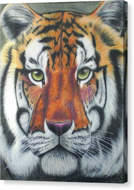 Tiger Canvas Print by Scarlett Royal