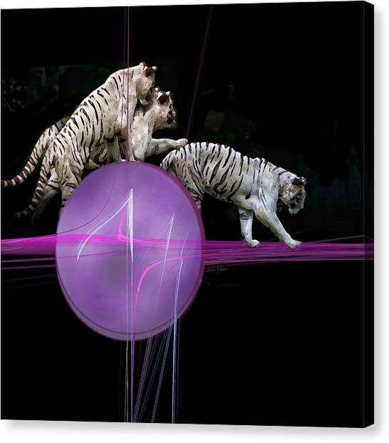 Tiger Tag Canvas Print