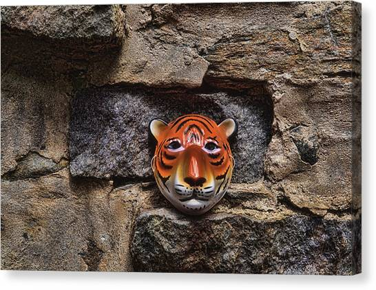 Fantasy Cave Canvas Print - Tigers Den by Jeff  Gettis