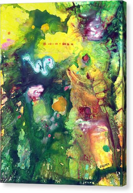 Tikal Canvas Print by James Douglas Draper