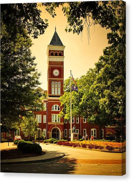 Clemson University Canvas Print - Tillman Hall - Clemson University by Library Of Congress
