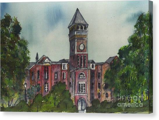 Clemson University Canvas Print - Tillman Hall One Clemson by Patrick Grills