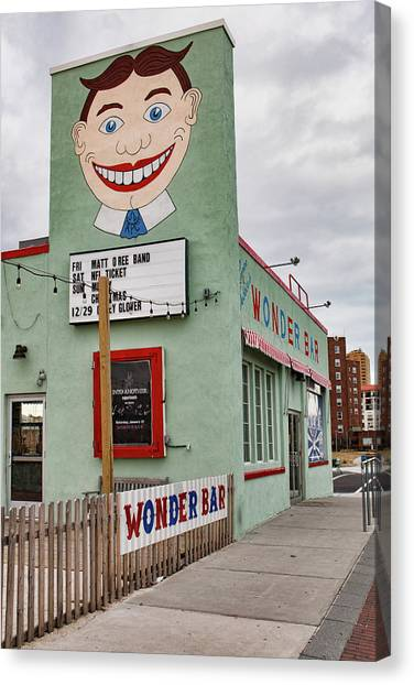 Tilly And The Wonder Bar Canvas Print