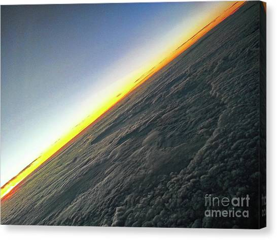 Tilt Horizon Canvas Print