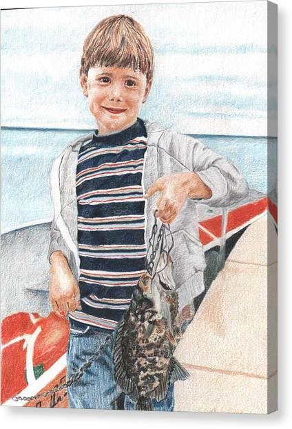 Tim Canvas Print by Sue Olson