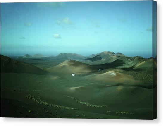 Canaries Canvas Print - Timanfaya - Lanzarote by Cambion Art