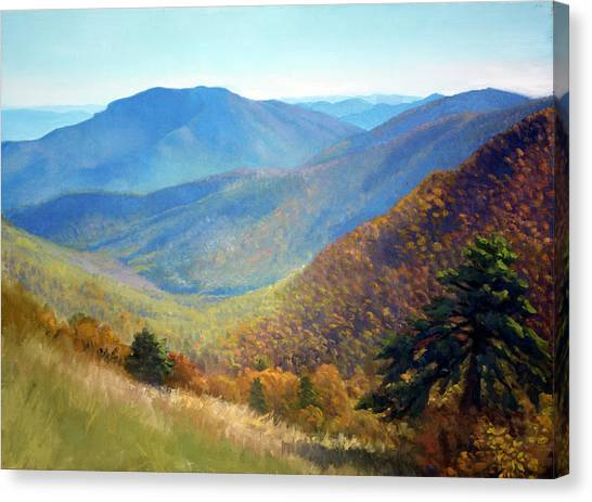 Shenandoah National Park Canvas Print - Timber Hollow Overlook by Armand Cabrera