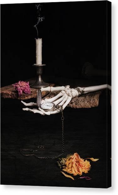 Bones Canvas Print - Time And Tide by Tom Mc Nemar