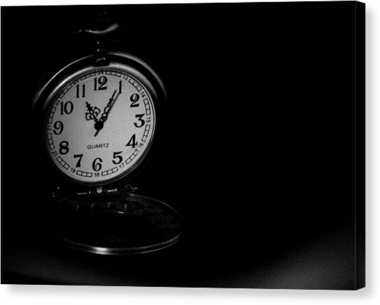 Time Canvas Print by Angela Aird