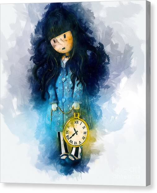 Time For Bed Canvas Print
