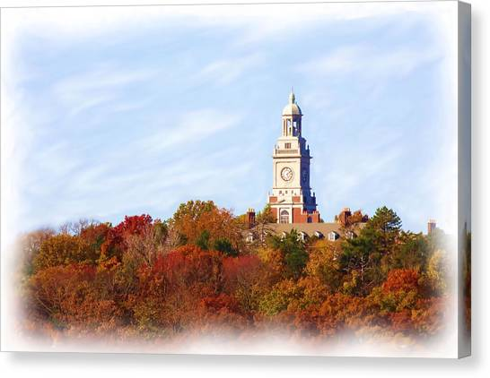 Time For Fall Canvas Print by Jim  Darnall