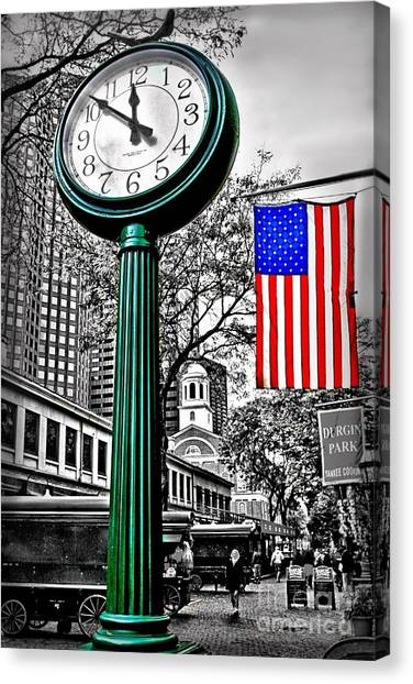 Time For Lunch Canvas Print