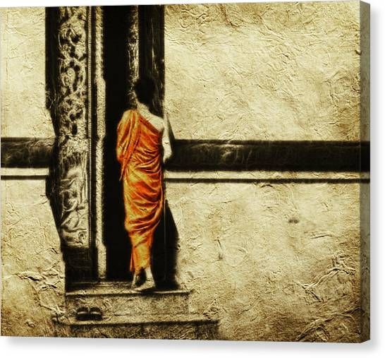 Time For Prayer Canvas Print