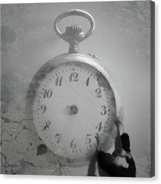 Time Is On My Side Canvas Print