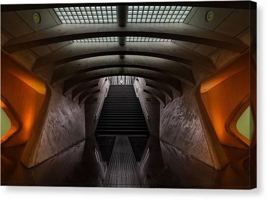 Tunnels Canvas Print - Time Machine by Michiel Hageman