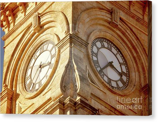 Time On My Side Canvas Print