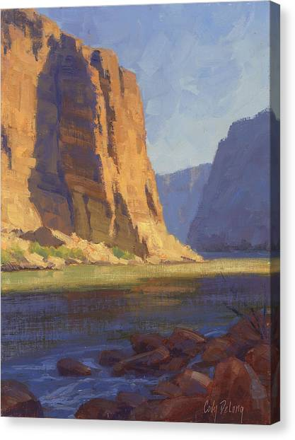 Canyons Canvas Print - Time Stands Tall  by Cody DeLong