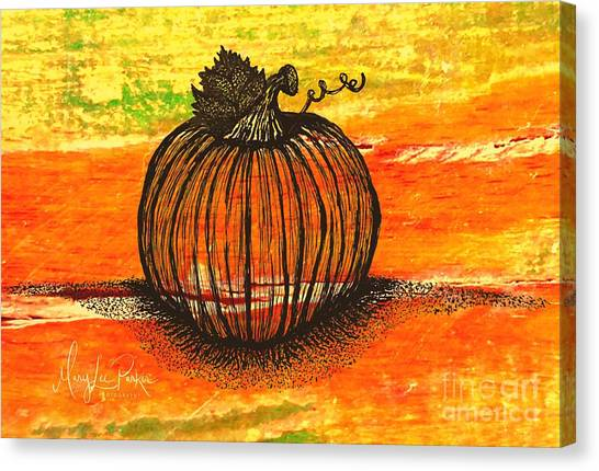 Time To Get Pumkin Canvas Print