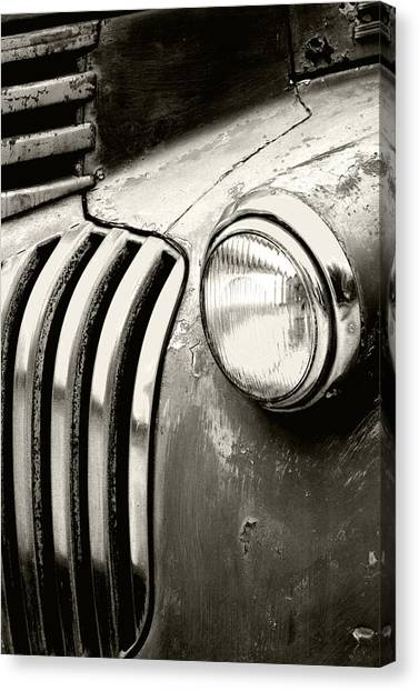 Rusty Truck Canvas Print - Time Traveler by Holly Kempe