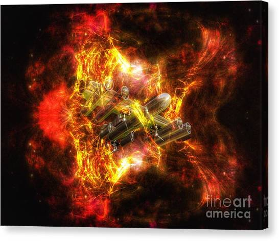 Time Warp Canvas Print
