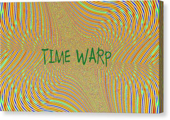 Time Warp Canvas Print by Thomas Smith
