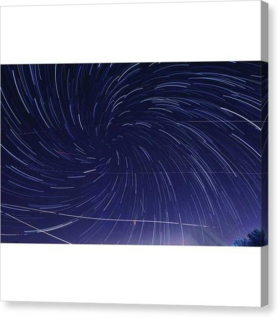 Stars Canvas Print - Time Warp! Where Do The Weekends by Andrew Nourse