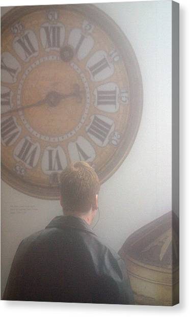 Time Watching Canvas Print by Jez C Self